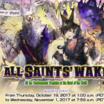 All Saint's Wake 2017