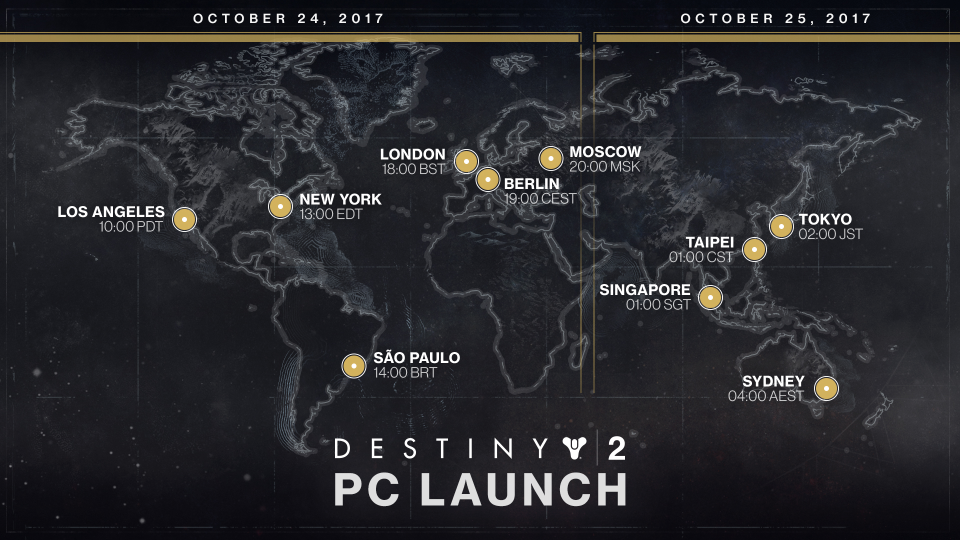 destiny 2 launch