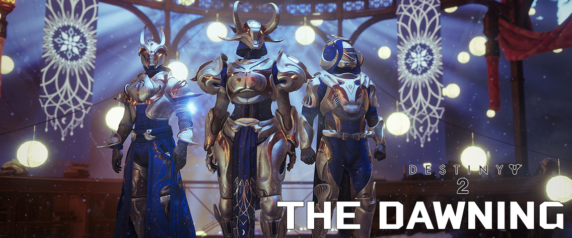 The Dawning Begins in Destiny 2
