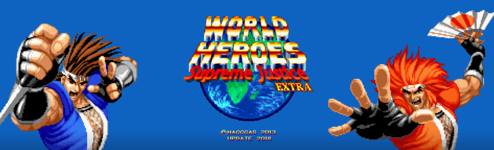 World Heroes Supreme Justice Extra