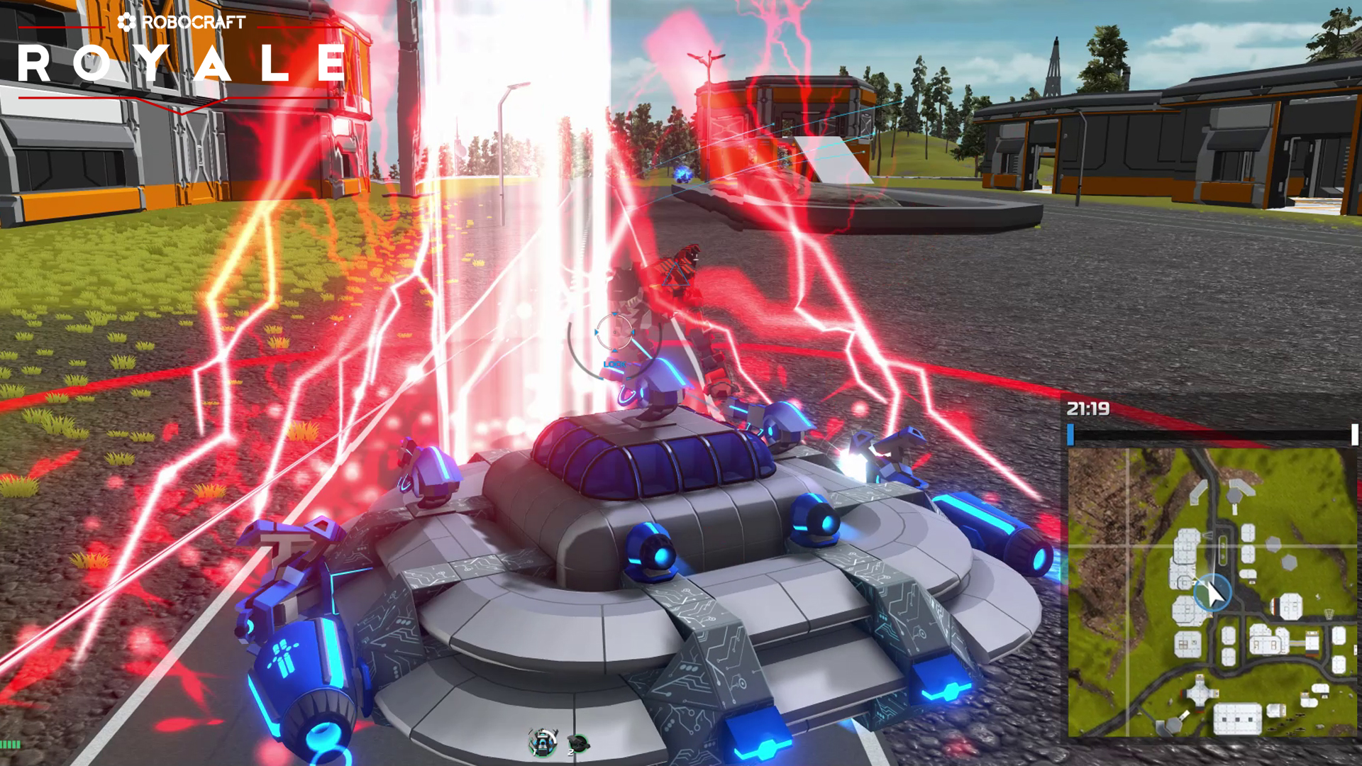 Robocraft Royale Out Now On Steam Early Access