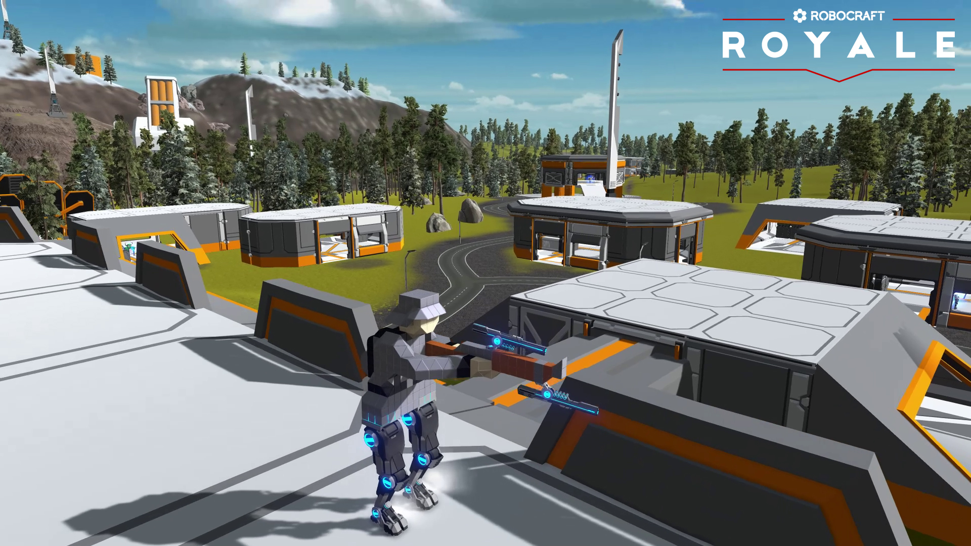 Robocraft Royale Launches March 26th on Steam Early Access