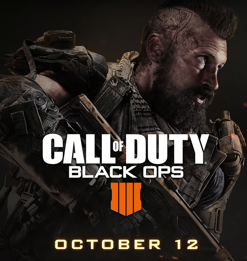CALL OF DUTY: BLACK OPS 4 AVAILABLE NOW WORLDWIDE