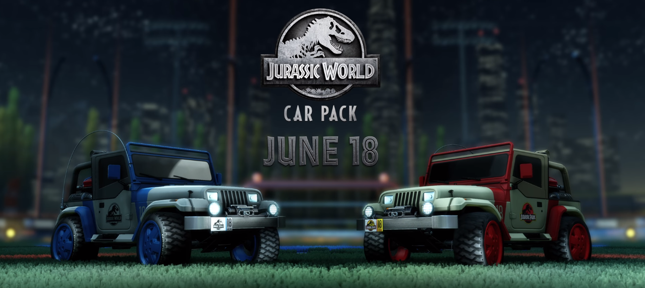 JURASSIC WORLD CAR PACK