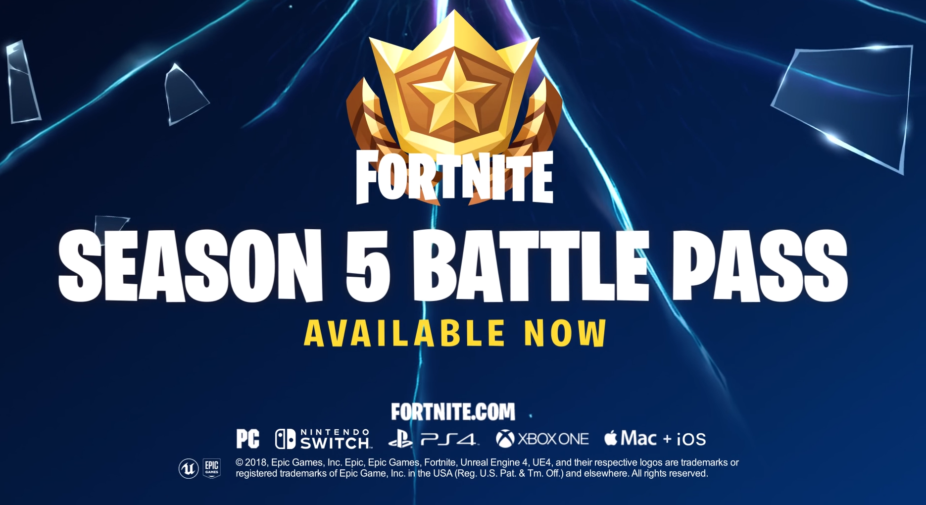 Worlds collide in Fortnite's Season 5, available now!