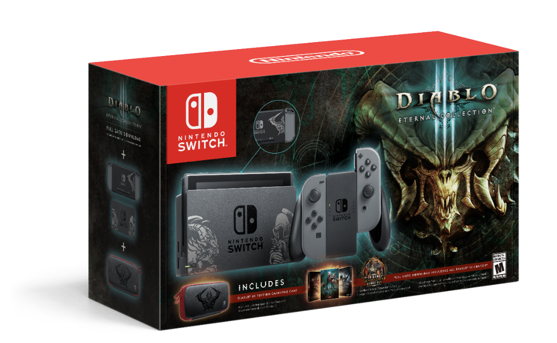 Nintendo Switch Gets Diablo III Eternal Collection Bundle