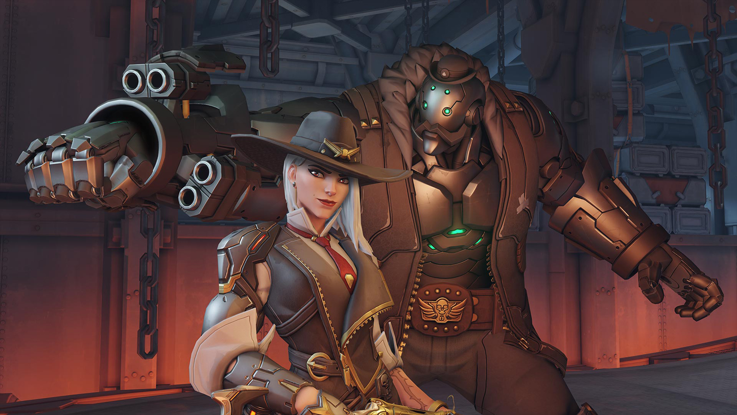 Overwatch's 29th Character is Ashe of the Deadlock Gang