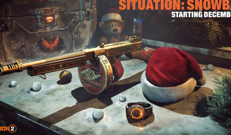 TOM CLANCY'S THE DIVISION 2 Gets Festive With Situation: Snowball