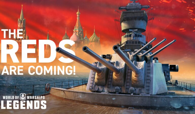 The Reds are Coming to World of Warships: Legends!