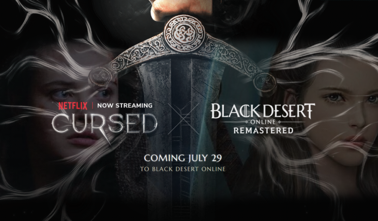 Black Desert launches crossover content based on Netflix Series, Cursed