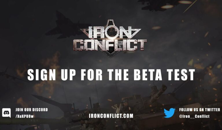 IRON CONFLICT Beta Announced for August 15th