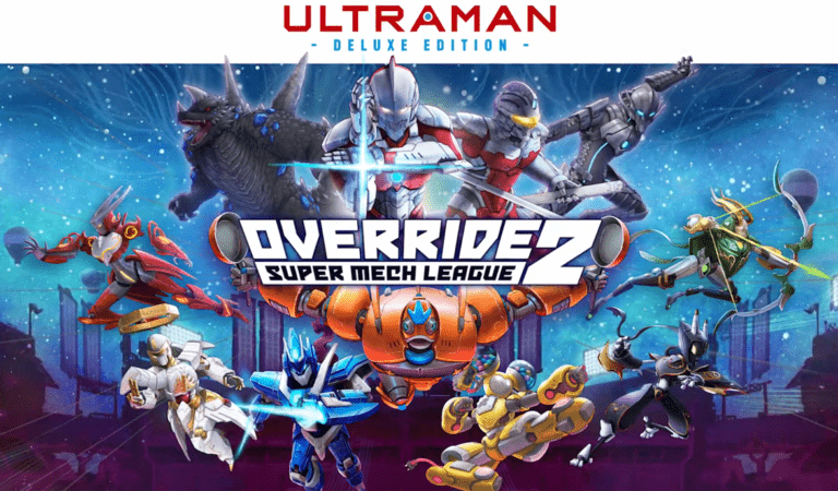 Modus Games Announces Override 2: Super Mech League – ULTRAMAN Deluxe Edition