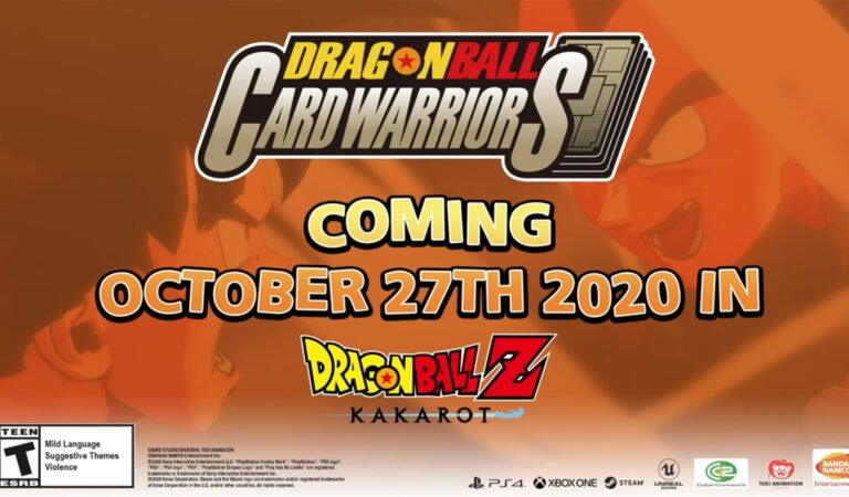 DRAGON BALL Z: KAKAROT Adds DRAGON BALL CARD WARRIORS Mode Today